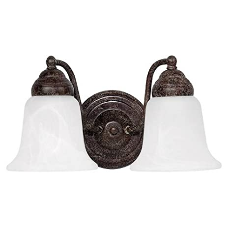 Capital Lighting 1362TS 117 2 Light Bathroom Light Vanity Lighting Fixtures  Home Improvement