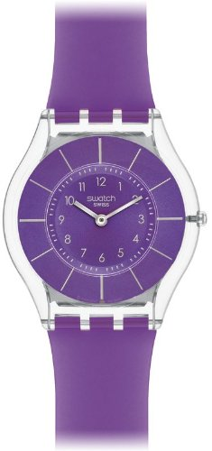 Swatch Purple Classiness SFK365 Ladies Watch
