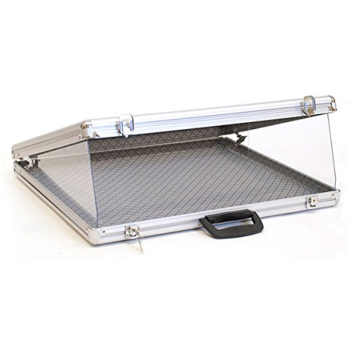KC Store Fixtures 19405 Portable Display Case, Angled Top, 24