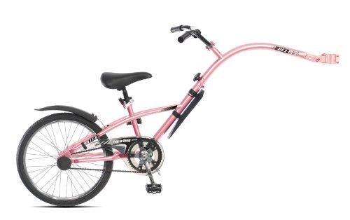 Reflex Folding Trailer Bike Pink