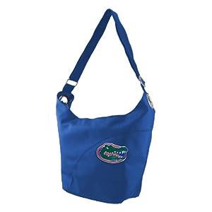 NCAA Florida Gators Ladies Color Sheen Hobo Purse, Royal by Littlearth