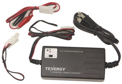 Tenergy Universal Smart Charger for NiMH/NiCd Battery Packs (6V - 12V) Perfect for RC or Airsoft Battery Packs --- NEW!
