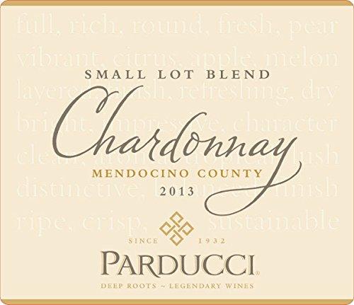 2013 Parducci Small Lot Blend Chardonnay Mendocino County 750 Ml