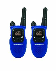 Motorola Talkabout MC220R 16-Mile 22-Channel FRS/GMRS Two-Way Radio (Pair)