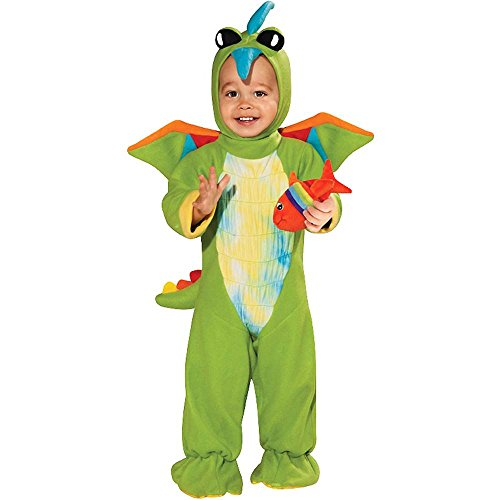 Green Dino Dragon Toddler Costume - 12-18 Months