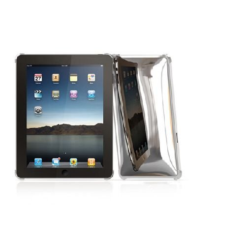 Macally MetroChrome Hard Case for iPad Chrome