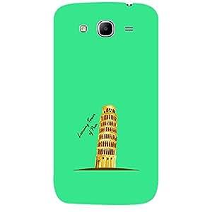Skin4gadgets Iconic Wonder Leaning Tower of Pisa Colour - Dark Turqoise Phone Skin for SAMSUNG GALAXY MEGA 5.8 (I9150)