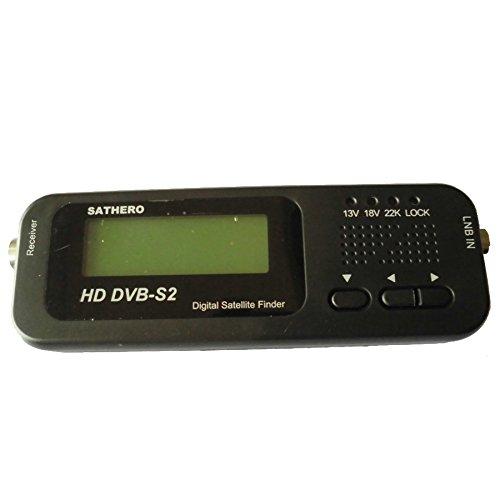 Sathero SH-100HD digital signal finder satellite meter quot DVBS/S2 with USB 2.0 Satfinder Sat Finder satellite finder dvb-s2