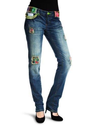 Desigual Damen Loose Jeans Denim