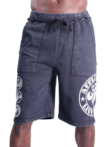 Affliction Divio Men's French Terry Draw String Shorts Size S