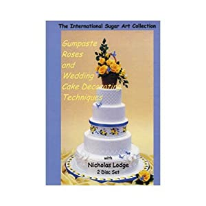 Amazon.com: Gumpaste Roses and Wedding Cake Decorating ...
