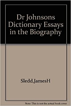 essay autobiography dictionary