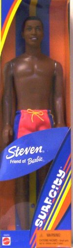 SURF CITY STEVEN (Friend of Barbie) African American Doll - 1