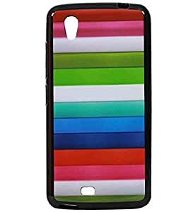 Multipal Line Exclusive Rubberised Back Case Cover For Gionee Ctrl V4s