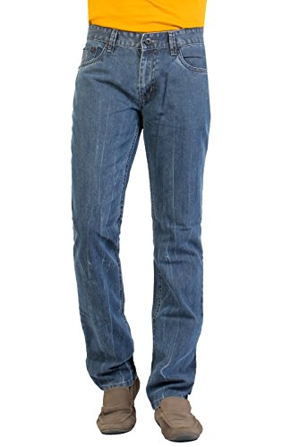 Aliep Aliep Grey 100% Cotton Regular Fit Jeans For Men | ALPJS27 (Multicolor)