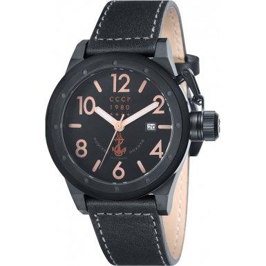 CCCP CP-7017-03 Mens Delta Black Automatic Watch