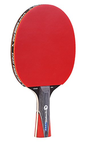 Great Features Of Sport Game Pro Ping Pong Paddle with Killer Spin - Table Tennis Paddle with Comfor...