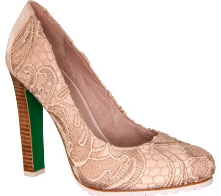 lisa for Donald J Pliner Women's Rawna-LA08 Dress Shoes,Nude Lace,8.5 M US