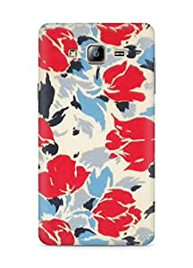 Amez designer printed 3d premium high quality back case cover for Samsung Galaxy ON5 (Retro floral)