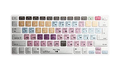 HRH Avid Pro Tools Keyboard Skin Hot Keys Silicone Laptop Keyboard Cover Skin Protector For Macbook Air 13.3