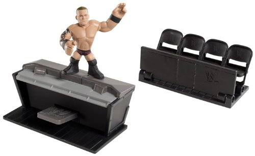 WWE Rumblers Randy Orton Figure With Ringside Takedown Playset