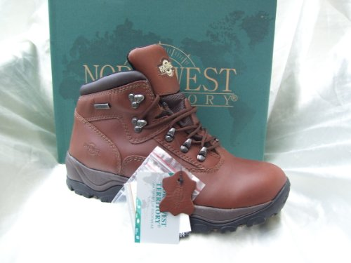MENS BROWN WATERPROOF BOOTS,HIKING,WALKING,LEATHER UK9