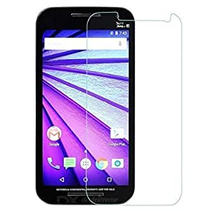 ROKAYA,round curved 2.5D hardness toughned tempered for motorola MOTO G-3(Pack of 2)