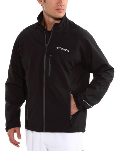Columbia Men's Jetstream Softshell - Black, Medium