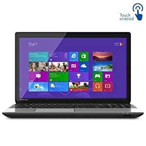 "Toshiba L55t-A 15.6"" Touch Laptop Intel Core i7-4700MQ 8GB Memory 1TB Hard Drive"