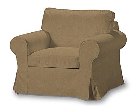 FRANC-TEXTIL 612-705-06 Ektorp sillón funda, funda sillón, sillón Ektorp, Etna, marrón claro