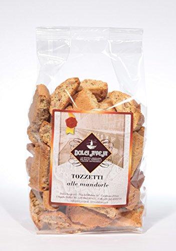 Tozzetti Cantuccini alle Mandorle - Biscotto Artigianale con Mandorle Italiane, prodotto a mano in Abruzzo Dolci Aveja