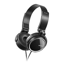 Sony MDRXB250/B On-Ear Headphone  (Black)
