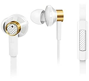 Estar 3.5mm jack earphone|| audio receiver With MIC ||Calling Function||Music receiver COMPATIBLE with Samsung Wave S723 - WHITE