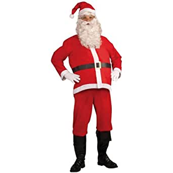 Forum Novelties Women's Basic Santa Claus Costume