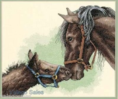 Dimensions Needlecrafts Counted Cross Stitch, Mother And Colt front-865140