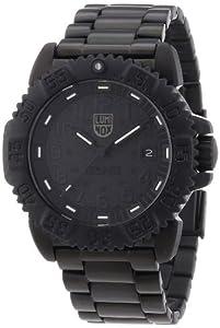 Luminox Sea Navy Seal Steel Colormark 3150 Men's Black PVD Watch A.3152.BO