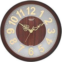 Stylish Wall Clock from Rikon - 1 Year Warranty