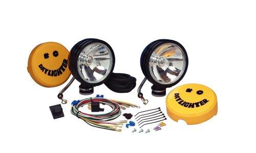 Kc Hilites #631 Daylighter - Long Range Lamp Light Black 130W Pair Of 2 Lights