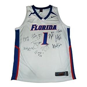 2006 Florida Gators Team And Billy Donovan Autographed Florida Gators (White #1)... by PalmBeachAutographs.com