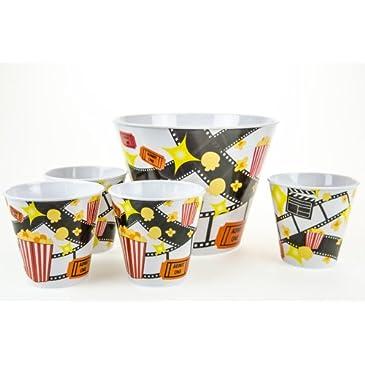 Popcorn Bowl Set of 5