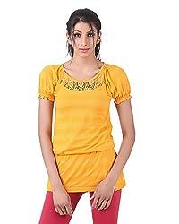Juelle Women's Blended Mustard Top