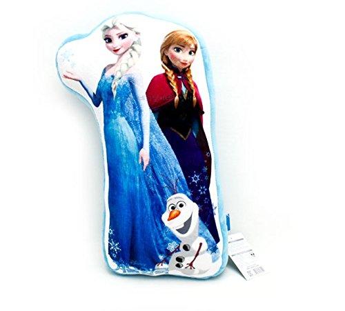 アナと雪の女王 枕 クッション pillow cushion Frozen 062190 フローズン アナ エルサ オラフ キャラクター ウォルト・ディズニー  Walt Disney Let It Go Anna Elsa Olaf  公式ライセンス商品 101 (ELSA&ANNA&OLAF) narahomedaco