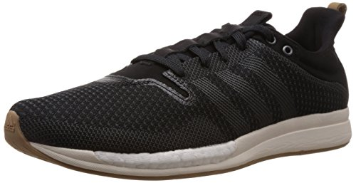 adidas Men's Adizero Feather Boost M Black, Off White and Brown Mesh Running Shoes - 6 UK  available at amazon for Rs.6299