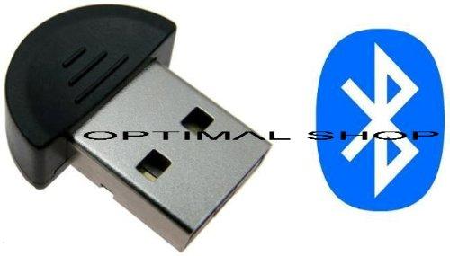*USB Mini Bluetooth Dongle Adapter für Samsung E200, E210, E250i, E340, E370, E380, E500, E530, E570, E590, E620, E720, E730, E740, E760, E770, E830, E840, E860V, E900, E950, E1310, E1360, F110 miCoach, F200, F210, F300, F330, F400, F480, F490, F500, Kompatibel mit Windows 7, 98, 2000, ME, XP, Vista, inkl. 1x Optimal Shop Kugelschreiber