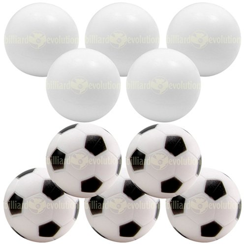 Learn More About 5 Smooth and 5 Soccer Foosballs