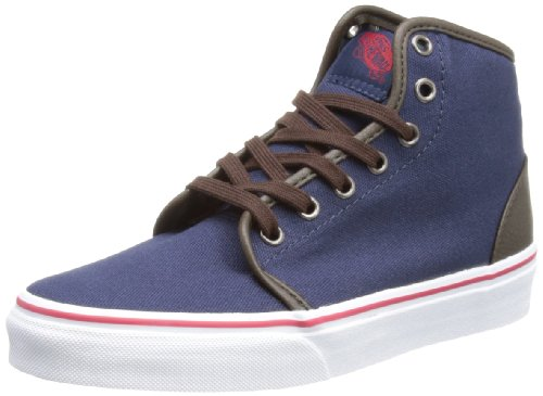 Vans Unisex-Adult 106 HI Dress Blue High-Tops VRQM8IE 8 UK, 42 EU, 9 US