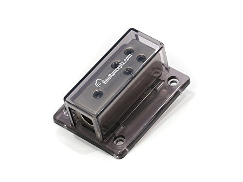KnuKonceptz Bassik 4 - 8 Gauge Power/Ground Distribution Block (Power Distribution Blocks compare prices)