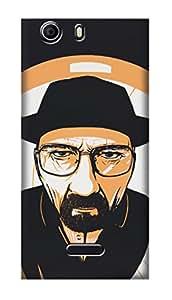SWAG my CASE PRINTED BACK COVER FOR MICROMAX CANVAS NITRO 2 E311 Multicolor