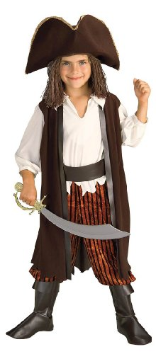 Little Boys' Caribbean Pirate Yarn Baby Costume