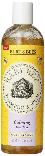 Burt's Bees Baby Bee Shampoo and Wash, Calming, 12 Fluid Ounce image
